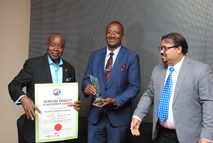PREMIUM PENSION BAGS AFRICAN QUALITY ACHIEVEMENT AWARD