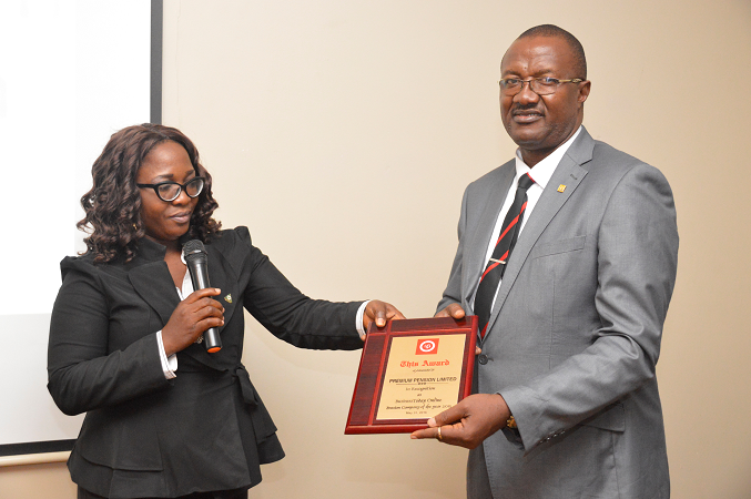 PREMIUM PENSION LIMITED IS PENSION-COMPANY-OF-THE-YEAR