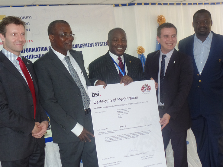 Premium Pension blazes pension industry trail in ISO Certification
